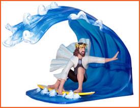 Jesus Waves!