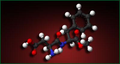 Aspartam - så ser det ut...