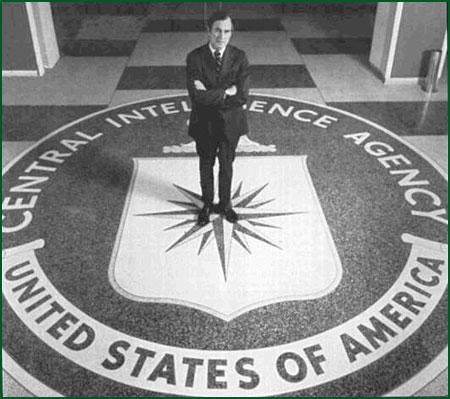 CIA ha hjälpt Bush Jr. med konspirationen? Eller var det pappa som låg bakom?