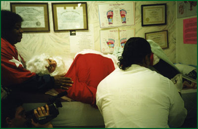 Ho ho ho, Santa needs a colonic! (Johnny Knoxville från Jackass)
