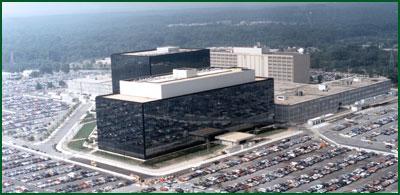 NSAs högkvarter i Fort Meade, Maryland.