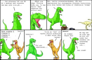 DInosaur discussion - chemtrail style!